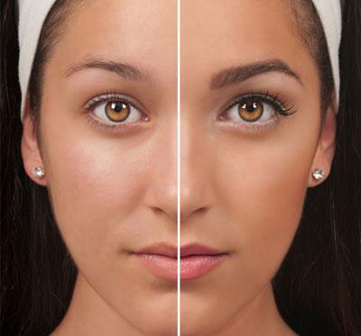 Professional Quality Eyelash Tinting