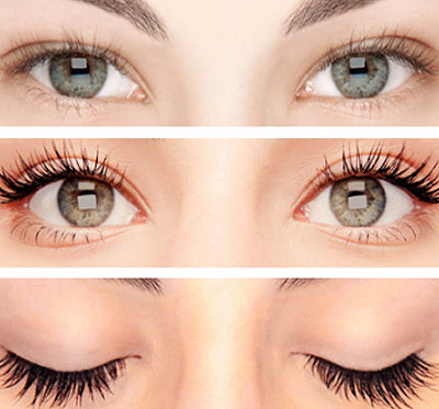 Eyelash Lifting gives the result of radiant eyes